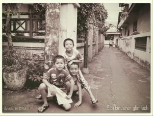 Een Kinderen Glimlach