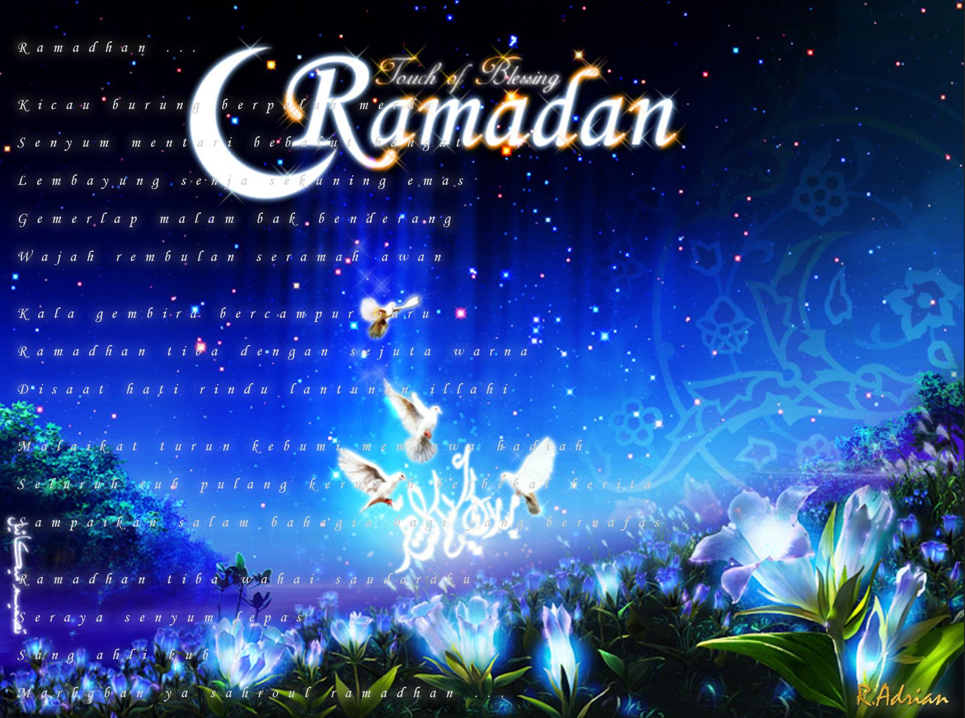 Ramadhan tiba dengan sejuta warna
